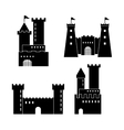 Castle icon Palace design Flat vector image vector image