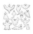 Ghost character vector image vector image