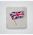 Great Britain flag icon vector image vector image