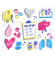 healthcare interior organs vector image