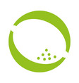lemon fruit isolated icon vector image vector image
