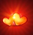 love heart design vector image vector image