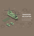 military air forces isometric vector image vector image