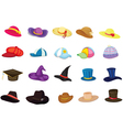 Mixed hats vector | Price: 1 Credit (USD $1)