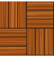 Parquet tiling seamless texture vector image vector image