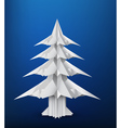 Pine paper vector image vector image