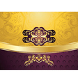 Purple Decorative Background8 vector image vector image