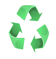Recycles symbol graphic eps10 vector image vector image