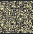 seamless floral background vintage pattern vector image vector image