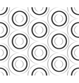 Seamless pattern of paper circles vector image vector image