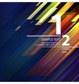 Abstract bright background with diagonal lines vector image