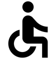accessible vector image vector image