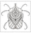 Beaautiful card vector image vector image