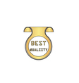 Best quality computer symbol vector image vector image