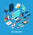 Data analysis isometric set