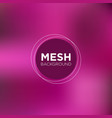 electric pink mesh background vector image vector image