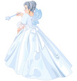 fairy godmother vector image vector image
