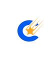 letter c logo creative concept icon vector image vector image