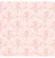 Seamless pattern from pink roses vector image vector image