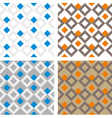 Square pattern texture vector image vector image