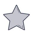 star icon cartoon vector image