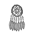 Tribal dream catcher vector image vector image