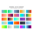universal gradient background for design vector image