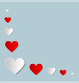 valentines day creative background vector image vector image