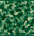 war green forest camouflage seamless pattern can vector image vector image