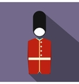 A Royal Guard icon flat style vector image vector image
