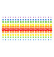 analytics chart shape halftone spectral grid vector image vector image