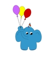 Baby elephant vector image