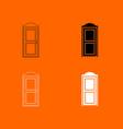 bio toilet icon vector image