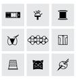 Needlywork icon set vector image vector image