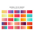 universal gradient background for design vector image vector image