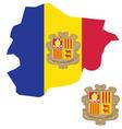 Andorra Flag vector image
