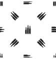 bullet ammunition pattern seamless black vector image vector image