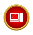Computer icon simple style vector image vector image