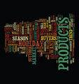 five holiday trends what every e tailer should vector image vector image