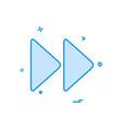 forword icon design vector image