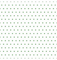 green polka dots on white background vector image vector image