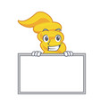 grinning with board fusilli pasta character vector image vector image