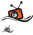 Retro Gadget Icon vector image vector image