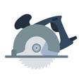 circular saw icon vector image vector image