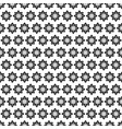seamless stars deco art pattern vector image vector image