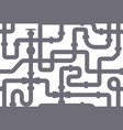 seamless texture pipeline texture grey vector image