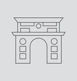 Skopje vector image vector image