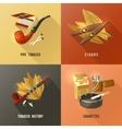 Tobacco Design Concept vector image
