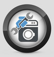 washer assistance vector image vector image