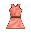 womans dress icon image vector image